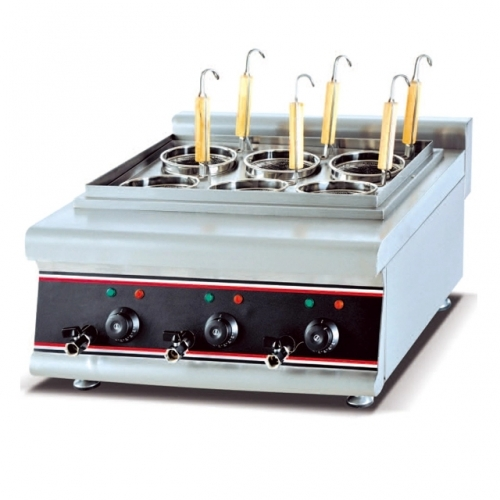 counter top electric noodle cooking machine