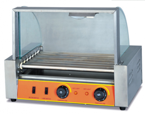 Commercial Electric Hot Dog Roller Grill Machine